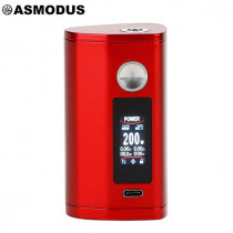 Authentic asMODus Minikin 3 200W Touch Screen Box Mod - Red
