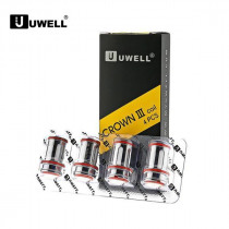 4 x Authentic Uwell Crown III 3 0.4ohm Replacement Coil Head