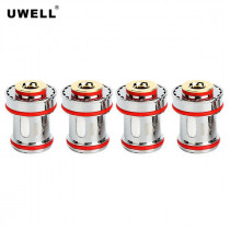 4 x Authentic Uwell CROWN 4 IV SS304 UN1 Coil Head 0.25ohm