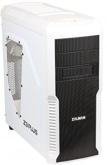 Корпус Zalman Miditower Z3 Plus White