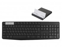 Клавиатура Logitech K375s Wireless Multi-Device Keyboard & Stand Black 920-008184