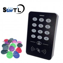 125khz RFID Proximity Card Access Control System RFID/EM Keypad Card Access Controller Door Opener Master Controller