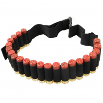 25 Round 55'' 12GA Ammo Holder Gun Shell Bandoliers Belt or 8 Round Ammo Carrier Loop Tactical Hunting Airsoft Cartridge Belt
