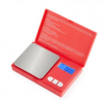 Mini electronic scales red digital scale 1000g500g0.01g0.1g Precision Libra Jewelry Pocket Scale Portable Palm weight scale