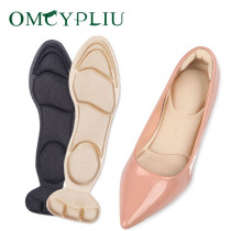 1 Pair Insole women shoe heel pads non slip pad Inserts soft sponge  breathable massage woman heel protector insoles for shoes