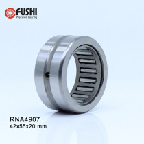 RNA4907 Bearing 42*55*20 mm ( 1 PC ) Solid Collar Needle Roller Bearings Without Inner Ring 4624907 4644907/A Bearing