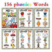Phonics 26 English Letters Flash Cards Kids Montessori Games Learning Word Cards Educational Toys For Children Baby