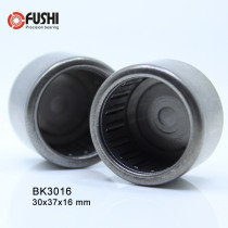 BK3016 Needle Bearings 30*37*16 mm ( 5 Pc ) Drawn Cup Needle Roller Bearing  BK303716 Caged Closed ONE End 45941/30