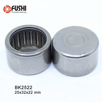 BK2522 Needle Bearings 25*32*22 mm ( 5 Pc ) Drawn Cup Needle Roller Bearing  BK253222 Caged Closed ONE End
