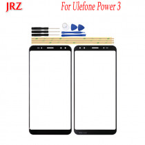 6.0 inch Phone Touch Screen Front Glass Lens cover For Ulefone Power 3 Touch Panel Sensor Digitizer Replacement Touchscreen