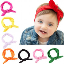 Baby Girl Headbands Kids Toddler Bow Hairband Headband Big Bow Elastic Hair Bands Head Wrap Baby Hair Accessories 1Pcs