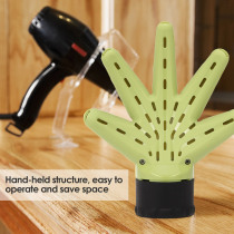 Hair Dryer Diffuser Hand Shape Plastic Hairdressing Tool Salon Hairstyling Accessory Professional Curly Hair Dryer Diffuser