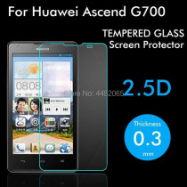 For Huawei Ascend G700 Tempered Glass Original 9H Protective Film Explosion-proof Screen Protector for Huawei G700 Safety Guard