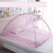 New Folding Baby Bed Mosquito Nets Portable Baby Bedding Crib Netting Bottomless Mosquito Insect Net Safe Mesh For Baby Girl