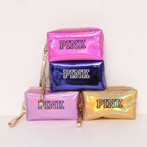 Fashion Waterproof Laser Mermaid Cosmetic Bags Women Neceser Make Up Bag PVC Pouch Wash Toiletry Bag Travel Organizer Case