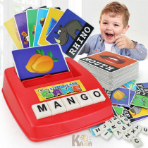 Letters Alphabet Game English Flash Cards Learning Machine Kids Educational Words Cards Toys Learn English Word Game