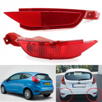 Car Rear Bumper Rear Fog Lamp Reflector Lights Tail Brake Light for Ford/Fiesta MK7 2008 2009 2010