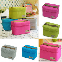 New 2019 Portable Lunch Bag Thermal Insulated Warm Lunch Bags for Girls Women Men Cooler Thermal Food Lunch Bags Picnic Supplies