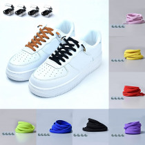 1 pair Stretching Locking no tie lazy shoeLaces sneaker Elastic Rubber Shoe lace children safe elastic shoelace 2019 hot sale