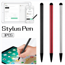 3PCS/SET Universal Solid Touch Screen Pen For iPhone iPad Samsung Tablet PC