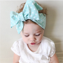 Girl Baby Headband Big Wide Wave Spot Girls Headband Elastics For Newborns Head Band For Girl Hair Bows Elastic Hair Bands