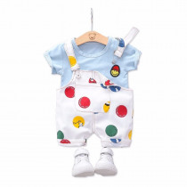 Summer Toddler Infant Clothing Sets Baby Girls Boys Clothes T Shirt Strap Shorts 2pcs/Sets Kids Children Casual Fashion Costume