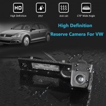 HD Car 170 Degree Wide Angle Reverse Backup Rear View Camera For VW Transporter T5 T30 for Caddy Passat B5 For Touran Jetta