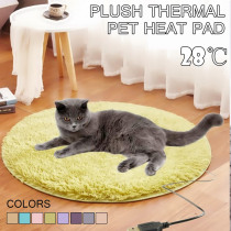 40cm Animals Bed Heater Mat Heating Pad Good Cat Dog Bed Body Winter Warmer Carpet Pet plush Electric Blanket Heated Seat