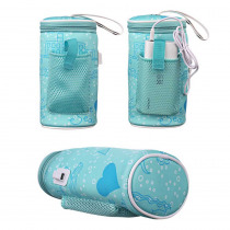 Baby Bottle Bag Insulation USB Intelligent Heating Warm Cover Water Cup Bag Thermos Can Be Hung On Stroller Bottle Bag