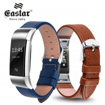 5 Color Leather Watch Strap for Fitbit Charge 2 Replacement Wristband Strap for Fitbit Charge 2 Band Smart Accessorie