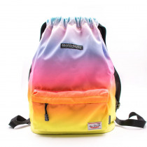 Gym bags for Women 2019 Girls Waterproof Sports Drawstring Backpack Gradient Bags for Travel Fitness Yoga Camping Swimming Train