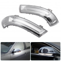 Car Rear View Mirror Indicator Auto LED Turn Signal Light Right Left Car LED Signal Lamps For VW GOLF GTI JETTA MK5