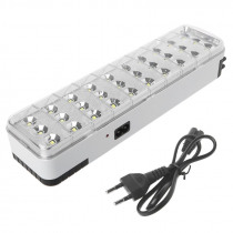 30LED Multi-function Emergency Light Rechargeable LED Safety Lamp 2 Mode For Home Camp Outdoor 110-220V