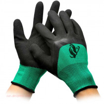 5/12 Pairs Thin Industrial Working Gloves Oil-resistant Rubberized Wear-resistant Anti-skid Construction Site Protective Gloves