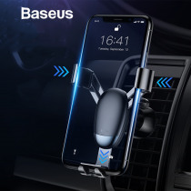 Universal car phone holder for gravity air vent Mounting Clip stand gps phone holder for iPhone samsung mobile phone holder