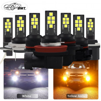 BMT H8 H11 H7 H1 H3 Led Canbus 9006 HB4 HB3 H16 5202 PSX24W h27w2 H27 881 P13W Led Bulb Car Fog Light 1400LM Auto Lamp Bulbs