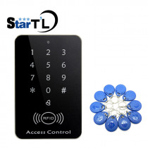 Free Shipping 125khz RFID Proximity Card Access Control System RFID/EM Keypad Card Access Controller Door Opener Master Controll