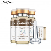 Fulljion Six Peptides Collagen Protein Serum Anti-Wrinkle Anti Aging Hyaluronic Acid Liquid Cream Face Lifting Beauty Essential
