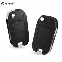 KEYYOU car flip Folding Key Shell For Vauxhall for Opel Corsa d C Combo Tigra Meriva Agila 2 Buttons Remote Key Case Cover Fob