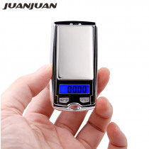 100g*0.01g mini LCD Electronic Digital Pocket Scale Jewelry Gold Weighting Gram balance Weight Scales small as car key 30% off