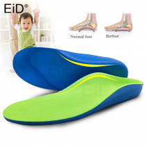 Kids Children Flat Feet Arch Support Insoles Orthotic Orthopedic Shoe Inserts Orthotic Pads Correction Health Feet Care Insole