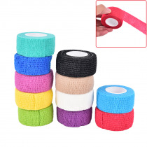 1pc Self Adhesive Elastic Tattoo Bandage Non-woven Fabric 4 .5cm Wide Elbow Binding Protection Wrap Nail Tape Tattoo Accessories