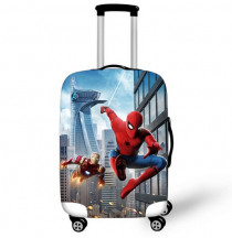 18-32 Inch SpiderMan Into the Spider-Verse Elastic Luggage Protective Cover Suitcase Protect Dust Bag Case Travel Accessories