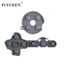 IVYUEEN High Qualiy 1 Set Conductive Rubber Contact Pad Button D-Pad for Microsoft Xbox 360 Controller  Replacement Parts