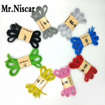 Mr.Niscar 1 Pair No Tie Lazy Elastic Flat Shoelaces Creative Shoelace Buckle Adult Kids Sports Colorful Shoe Laces Strings