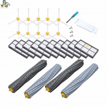 Multi-set Spare parts side brushes HEPA filter Roller brush for iRobot Roomba 980 960 800 860 880 for irobot roomba accessories