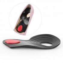1 PAIRS insole Flat Foot Orthotic insoles Arch Support  Half Shoe Pad Orthopedic Insoles Foot Care