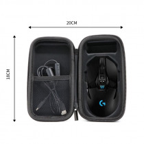 Storage Bag Carrying Box Wireless Mouse Case Organizer Cover Pouch Hard Shell Waterproof Shockproof Travel for Logitech G903 G90