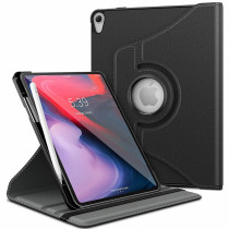 Luxury 360 Rotating Case Cover For Apple Ipad Pro 11 Inch 2018 Release Quality PU Leather Stand Holder Smart Tablet Case Cover