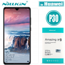 Huawei P30 Glass Screen Protector Nillkin 9H Hard H Plus Pro Clear Safety Protective Glass on Huawei P30 Lite Tempered Glass